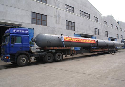 湖南株洲超长货物――化工设备运输