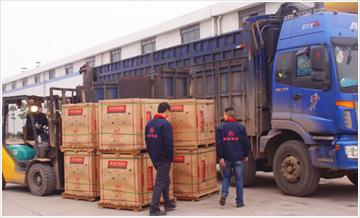 【陶瓷企业】新中源集团衡阳公司第三方物流――磁砖运输
