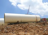 湖南电力设备运输――风电塔筒运输
