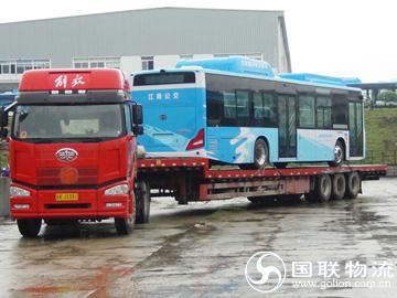 长沙电动汽车运输公司 国联物流 电动大巴车运输