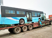 长沙整车运输公司 国联物流 电动客车运输