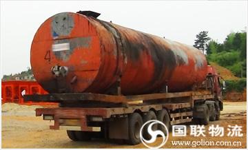 长沙设备运输公司――沥青搅拌站设备搬迁―运输图