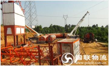 长沙设备运输公司――沥青搅拌站设备搬迁―货物图