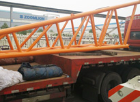 设备运输公司国联物流――中联重科吊臂运输