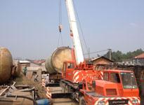 湖南大件运输公司国联物流――罐体设备运输