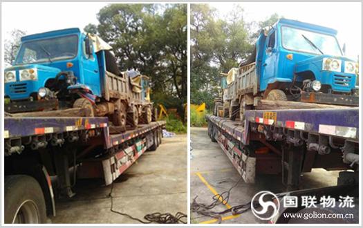 长沙机械设备运输公司国联物流 运输场景图
