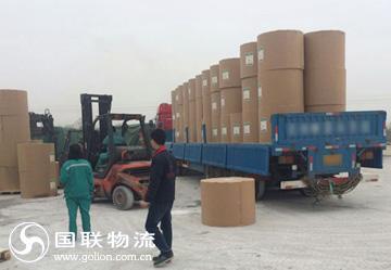 国联晨鸣纸业项目 卷纸运输
