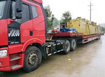 国联大件物流――中建五局设备运输