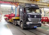 国联大件物流――中国铁建盾构机运输
