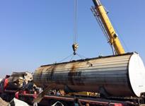 长沙物流公司国联物流――湘潭沥青设备搬迁