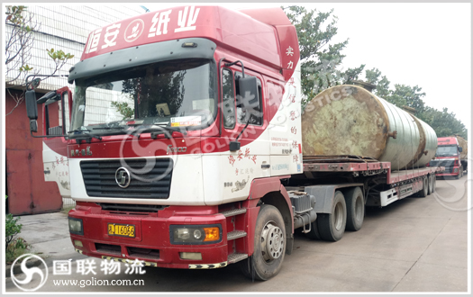 工程机械运输  国联物流