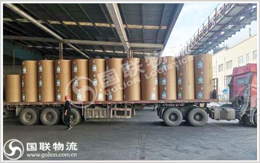 纸品运输   国联物流