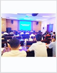 国联物流参加株洲市流通领域现代供应链体系建设试点项目验收培训会