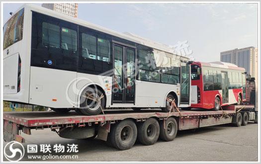 大巴车运输 国联物流