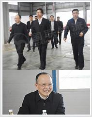 湖南省交通运输厅领导一行莅临株洲市现代综合物流园考察指导