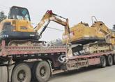 长沙挖机运输  国联物流  全能运输